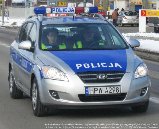 Policja Tomaszów Maz.: Potrącenie pieszej na ul. św. Antoniego